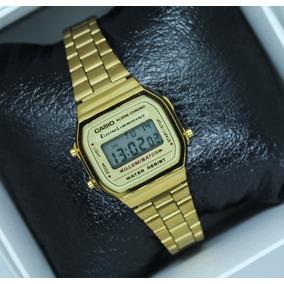 291792c08b8a Reloj Casio Dama Vintage Dorado 1572 A168 Mini Envío Gratis