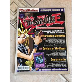 Revista Playstation Almanaque Yu-gi-oh! Card Game Número 4