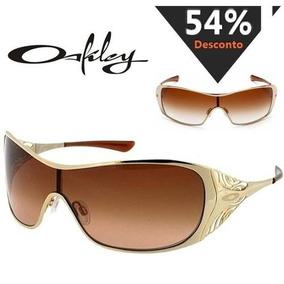 d1fc19e12 Oculos Oakley Dart Dourado Original - Óculos De Sol Oakley Com lente ...