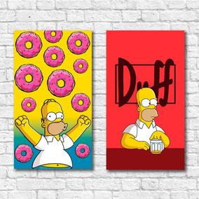 Kit 10 Pôsteres A3 - Simpsons - Frete Grátis (ler Anúncio)