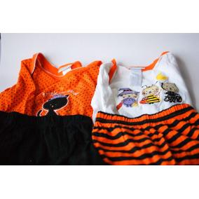 Disfraz Halloween Niña 6 Piezas Excelente Precio Remato