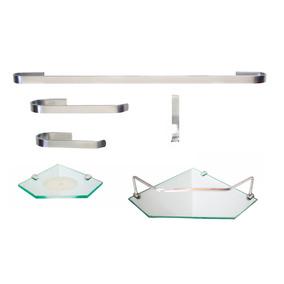Kit Para Banheiro Onix 4