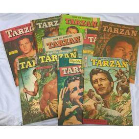 Lote Com 10 Gibis Tarzan - Nº 11 A 20 -1ª Série - Fac-símile