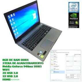 Lapto I7 7ma Gamer 8gb Ram 2gb Video 1tera Dd