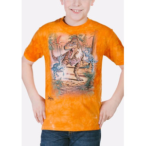 Playera 4d - Unisex Infantiles 15-4236 Battle Of The Dinos