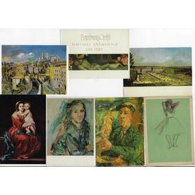 Quadros E Pinturas 100 Cartões Postais Diferentes