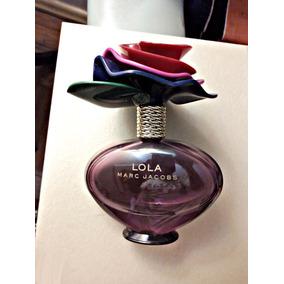 Vidro Perfume Lola Marc Jacobs Vazio Perfeito Luxo Coleção.