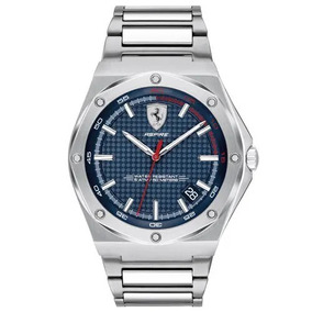 Relógio Scuderia Ferrari Masculino Borracha Preta 830530