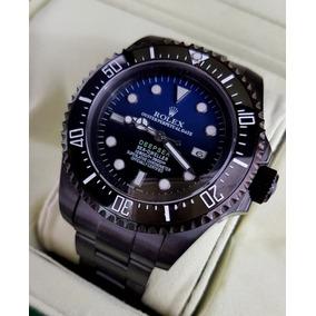 Reloj Rolex Sea-dweller Deepsea Black Esfera D-blue Aut