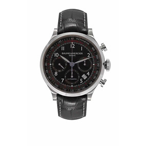 Relógio Original Baume And Mercier Capeland Chronograph Novo