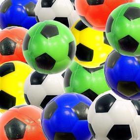 Paquete 12 Pelotas Futbol Juego Antiestres Piñata Mesh Ball