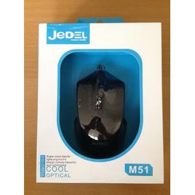 Mouse Jedel M51 1200 Dpi Ergonomico Usb Kingpc(somos Tienda)