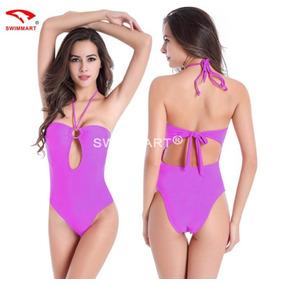 Trajes De Baño Para Mujer Bikinis Dama Monokini 5 Color
