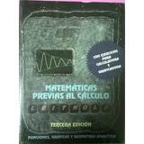 Matemáticas Previas Al Cálculo Leithold Libro