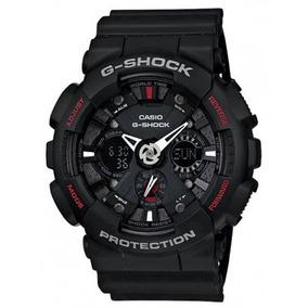 54e92c2dd74 Relogio Casio G Shock Ga120 1adr Preto Ou Ga120a 7adr Branco ...