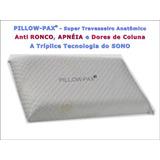 Travesseiro Pillow-pax - Anti Ronco, Apnéia, Dores De Coluna