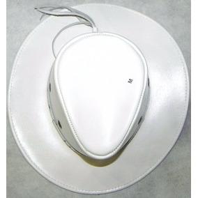 Chapeu Peão Country Rodeio Cowboy Couro 100% Natural