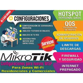 Mikrotik Configuracion De Equipos Y Redes Wi-fi
