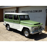 Hotv8 Vende Raro Rural Urbano 1971 Placa Preta Willys Ford
