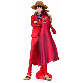 King Of Art - Luffy Action Figure One Piece