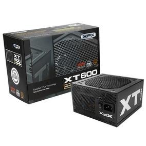 Fuente Pc Xfx Xt 600w Reales 80 Plus Bronce