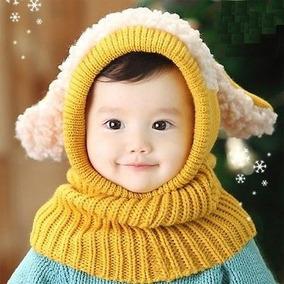 Gorro - Bufanda Para Bebe Niña Y Niño