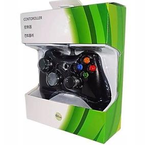 Controle Xbox 360 Computador Pc Com Fio Feir Joystick