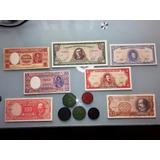 Lote Billetes Y Fichas Salitreras Chile - Oferta