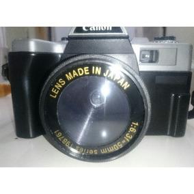 Camara 35mm Canon Reflex, Con Lente 50mm,