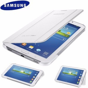 Capa Tablet Samsung Galaxy Tab 3 -t210-211 Branca E Cinza
