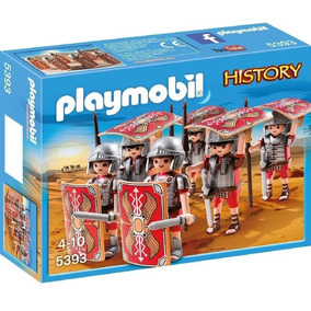 Playmobil 5393 History Legionarios Romanos Original Intek