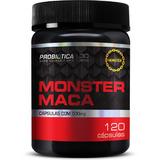 Monster Maca 500mg 120 Cápsulas Probiótica