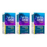 Vitaone Kit 3 Homem 60cápsulas Cada Total 180 = Centrum