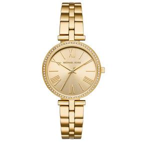 65aef75552d Relogio Feminino Dourado Com Pedras Original - Relógios De Pulso no ...