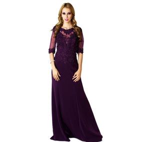 283cbee40d Vestido Tinto Fiesta - Vestidos de Mujer Violeta oscuro en Jalisco ...
