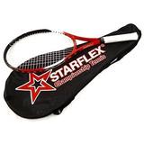 Raquete Tenis De Quadra Com Capa Starflex