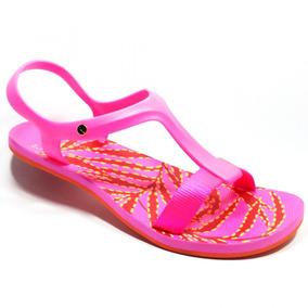 Sandália Kenner Lips Wing Sandal Leaves Twp Rosa Feminina