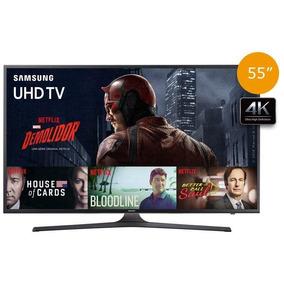 Smart Tv Led 4k 55 Samsung Un55ku6000, Ultra Hd, Hdmi, Usb