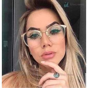 Oculo Oval Branco De Sol Outras Marcas Oculos - Óculos no Mercado ... fa5d5df7d1