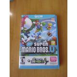 2x1juego New Super Mario Bros Wii U + Luigi U Original Fisic