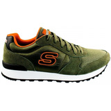 Tênis Masculino Skechers Early Grab Nobuck 52310