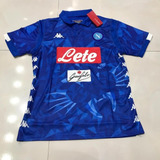 943e0ed5e7 Camisa Napoli Azul Kappa Kombat - Camisas de Times de Futebol no ...