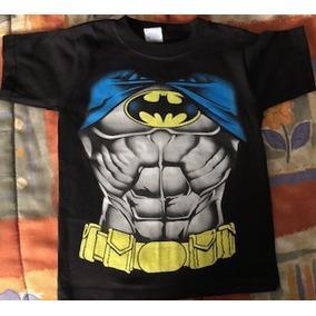 Playera Batman Talla 6 De Niño