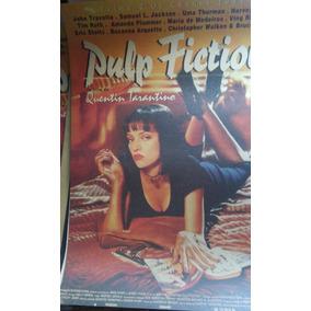 Poster Decorativ Pulp Fiction 51x36 Kraft Frete Fixo R$ 8,00