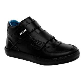 Yuyin Zapato Escolar 28152 Ng 15-25 Envio Gratis