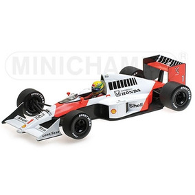 Fórmula 1 Mclaren Honda Mp4/5 1989 A. Senna 1:18 Minichamps
