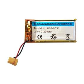 Bateria Apple Ipod Nano 6 6th Geração Modelo A1366 Mc525ll/a