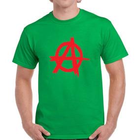 Remera Anarquia Anarchy Filosofia Rebel Punk Acracia Mod8