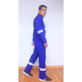 Overol Gabardina Premium Algodón Azul Rey Envío Gratis