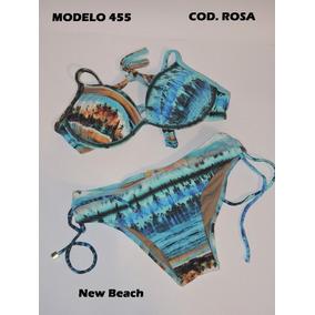 Biquini New Beach - Biquinis Femininas no Mercado Livre Brasil 8c33f5c01d
